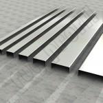 Paslanmaz Çelik Bordür Profilleri